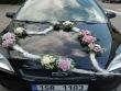 svatební aranžmá na auto